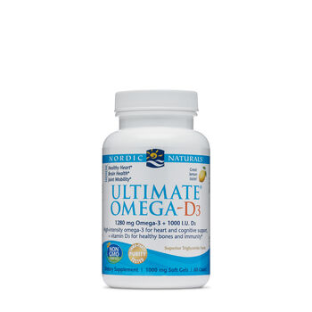 Ultimate® Omega-D3 - Lemon | GNC
