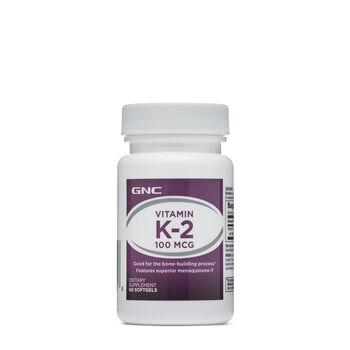 Vitamin K-2 - 100 mcg | GNC