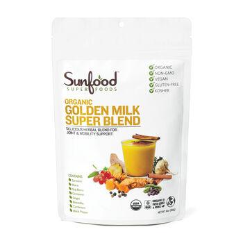 Sunfood Super Foods Organic Golden Milk Super Blend Gnc