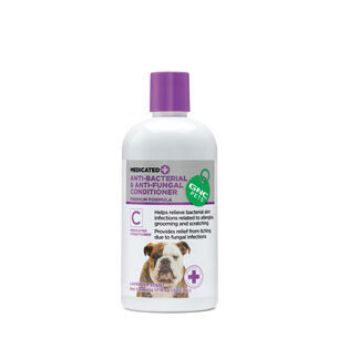 Medicated Anti-Bacterial & Anti-Fungal Conditioner - Lavender Scent | GNC