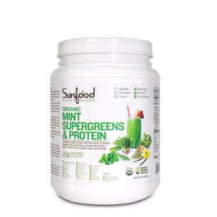 Mint Organic Supergreens and Protein | GNC