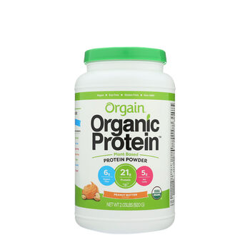Organic Protein™ Plant Based Powder - Peanut ButterPeanut Butter | GNC