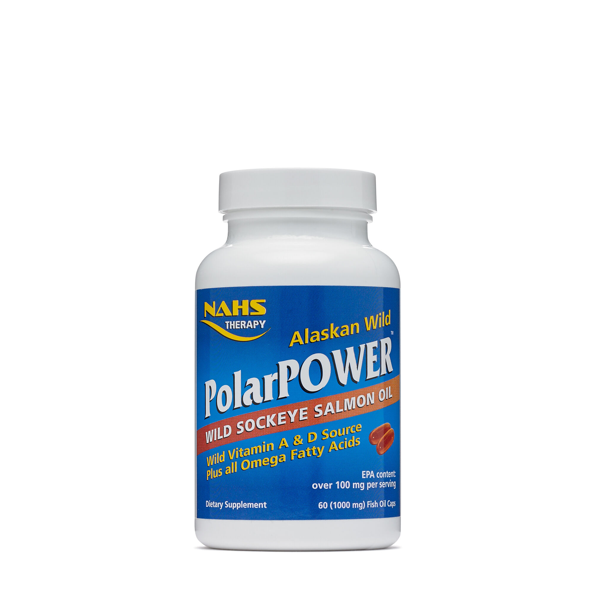 Alaskan Wild Polarpower - 60 Capsules - North American Herb & Spice - Salmon Oil