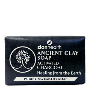 Ancient Clay Soap Activated Charcoal   GNC