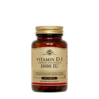 Vitamin D3 (Cholecalciferol) 25 MCG (1000 IU) | GNC
