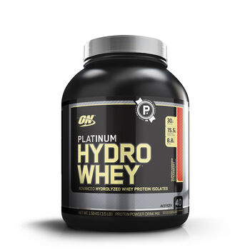 Platinum Hydro Whey® - Supercharged StrawberrySupercharged Strawberry | GNC