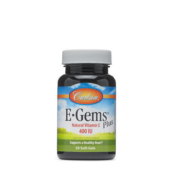 E-Gems® Plus Natural Vitamin E - 400 IU | GNC
