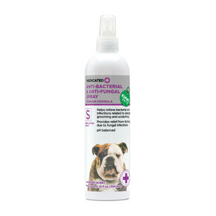 Medicated Anti-Bacterial & Anti-Fungal Spray - Lavender Scent | GNC