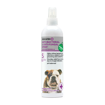Medicated Anti-Bacterial & Anti-Fungal Spray - Lavender Scent | GNC