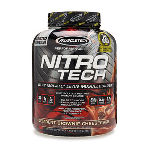 Nitro-Tech™ - Decadent Brownie CheesecakeDecadent Brownie Cheesecake | GNC