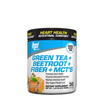 Green Tea + Beetroot + Fiber + MCT's - Tangerine IceTangerine Ice | GNC