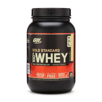 100% Whey Gold Standard™ Vanilla Ice CreamVanilla Ice Cream | GNC