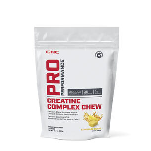 Creatine Complex Chew - Lemonade BurstLemonade Burst | GNC