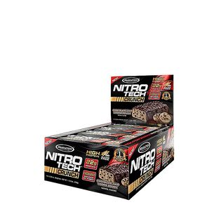 Nitro-Tech® CRUNCH - Chocolate Chip Cookie DoughChocolate Chip Cookie Dough | GNC