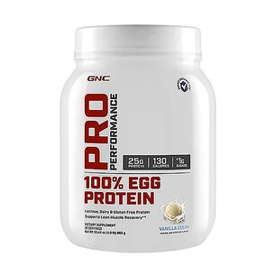 100% Egg Protein - Vanilla Ice Cream | GNC