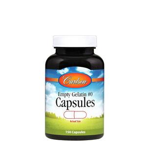 Empty Gelatin #0 Capsules | GNC
