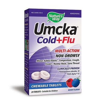Umcka® Cold + Flu - Berry Flavor | GNC