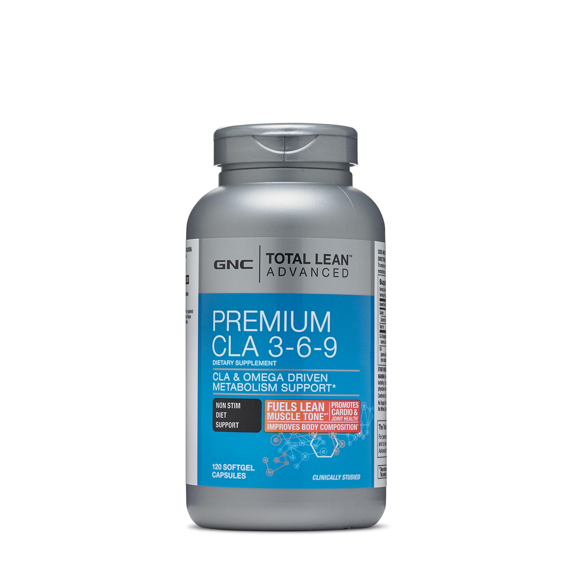 Gnc Total Lean Advanced Premium Cla 369 120 Softgel Cap Ebay