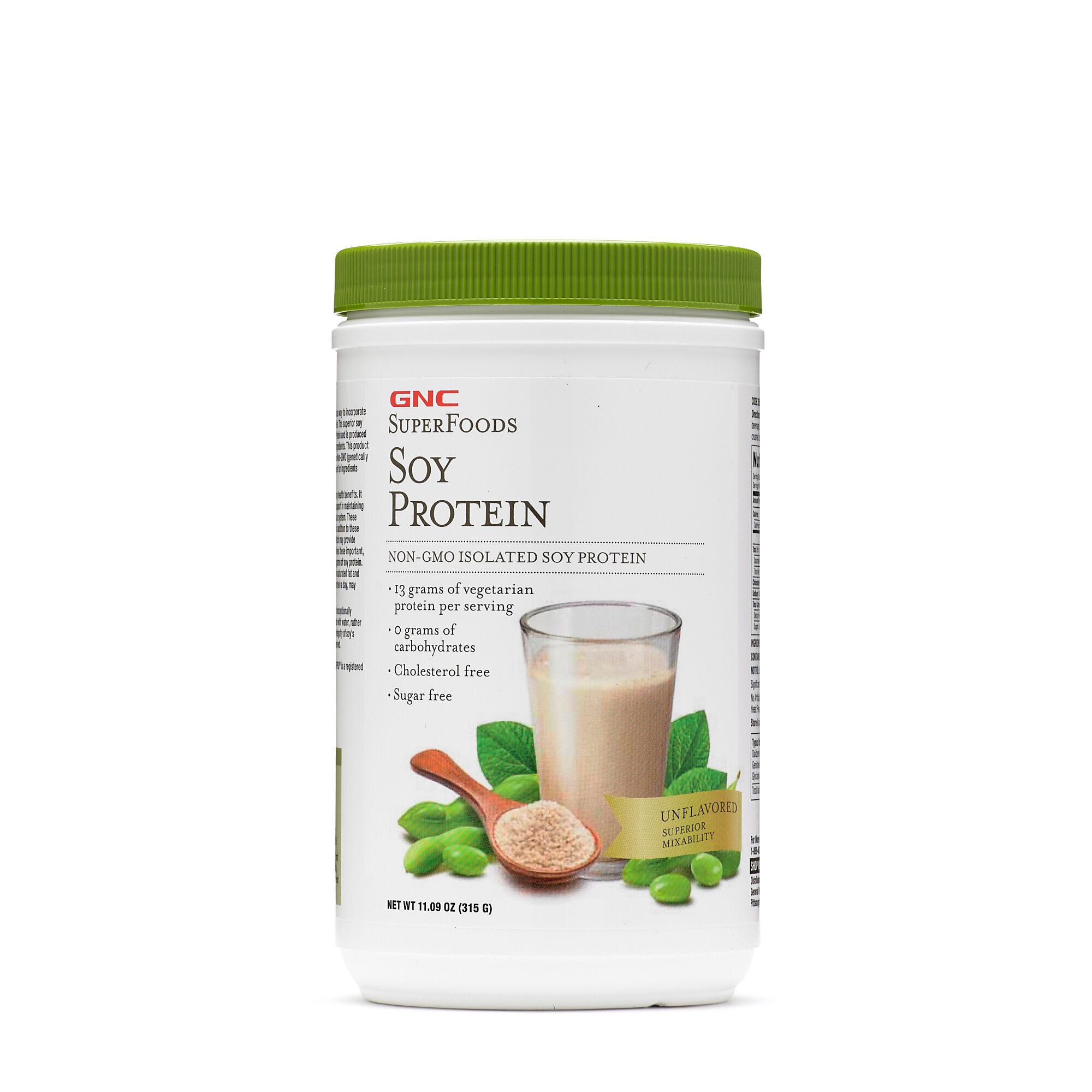 Soy Protein - Unflavored - 21 Servings - GNC Superfoods - GNC Protein Powders