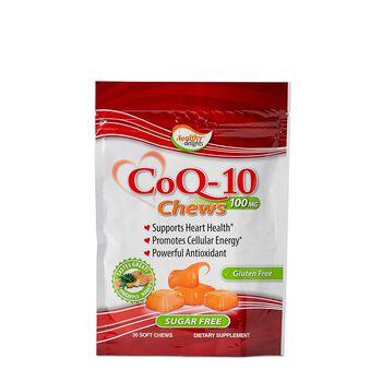 CoQ-10 100 mg Chews - Pineapple and Mango | GNC