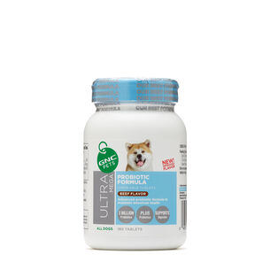 Ultra Mega Probiotic Formula - All Dogs - Beef Flavor | GNC