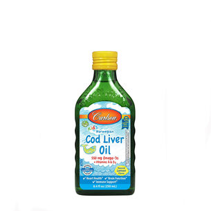 Kid's Norwegian Cod Liver Oil - Lemon | GNC