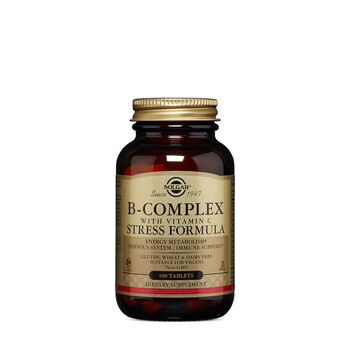 B-Complex with Vitamin C Stress Formula | GNC