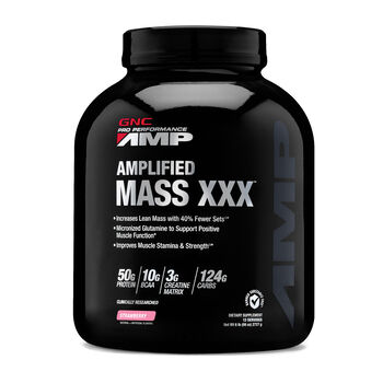 Amplified Mass XXX™ - StrawberryStrawberry | GNC