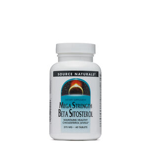 Mega Strength Beta Sitosterol | GNC