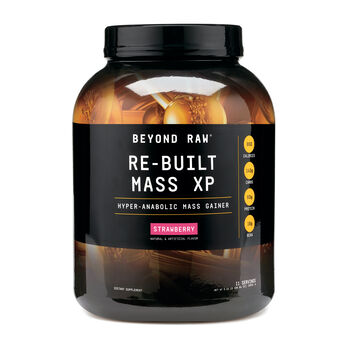 Re-Built Mass XP - Strawberry (California)Strawberry | GNC