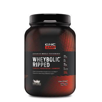 Gnc Amp Wheybolic Ripped Classic Vanilla Gnc