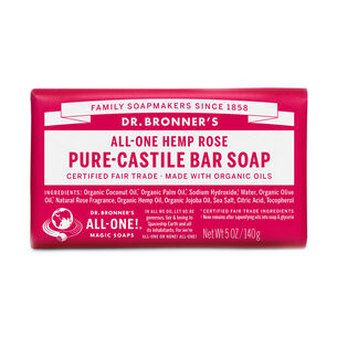All-One Hemp Rose Pure-Castile Bar Soap | GNC
