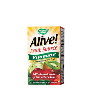Alive!® Fruit Source Vitamin C | GNC