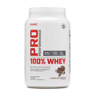 100% Whey - Chocolate SupremeChocolate Supreme | GNC