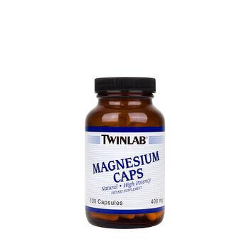 Magnesium Caps High Potency 400 mg | GNC