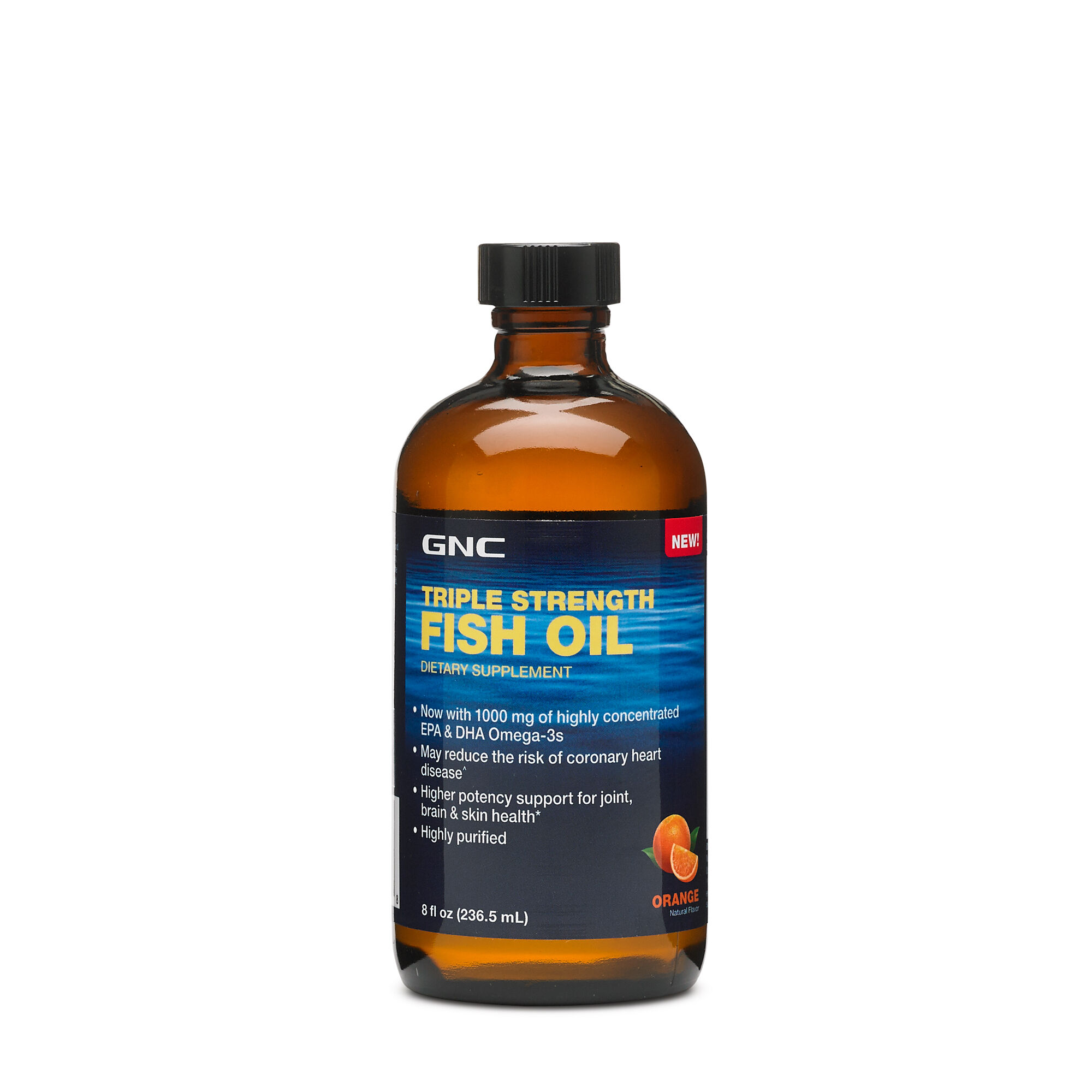 Triple Strength Fish Oil - Orange