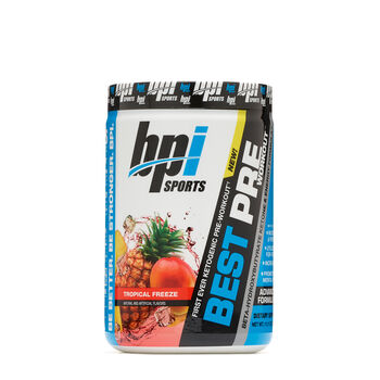 Best Pre Workout™ - Tropical FreezeTropical Freeze | GNC