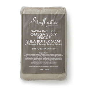 Sacha Inchi Oil Omega 3, 6, 9 Rescue Shea Butter Soap | GNC