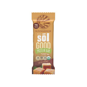 Organic Sōl Good Protein Bar - Salted Caramel | GNC