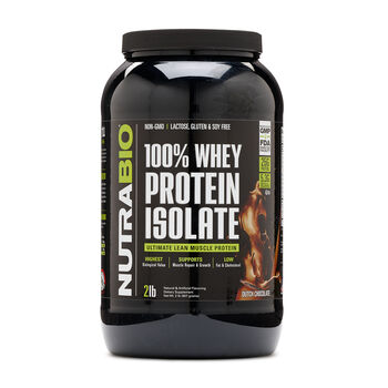 100% Whey Protein Isolate - Dutch ChocolateDutch Chocolate | GNC