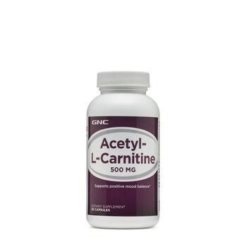Acetyl-L-Carnitine 500 mg | GNC
