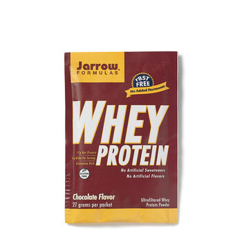 Whey Protein Packets - ChocolateChocolate | GNC