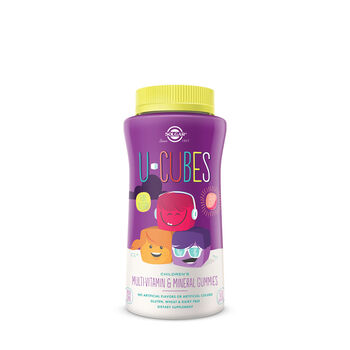 U-Cubes Children's Multivitamin and Mineral Gummies | GNC