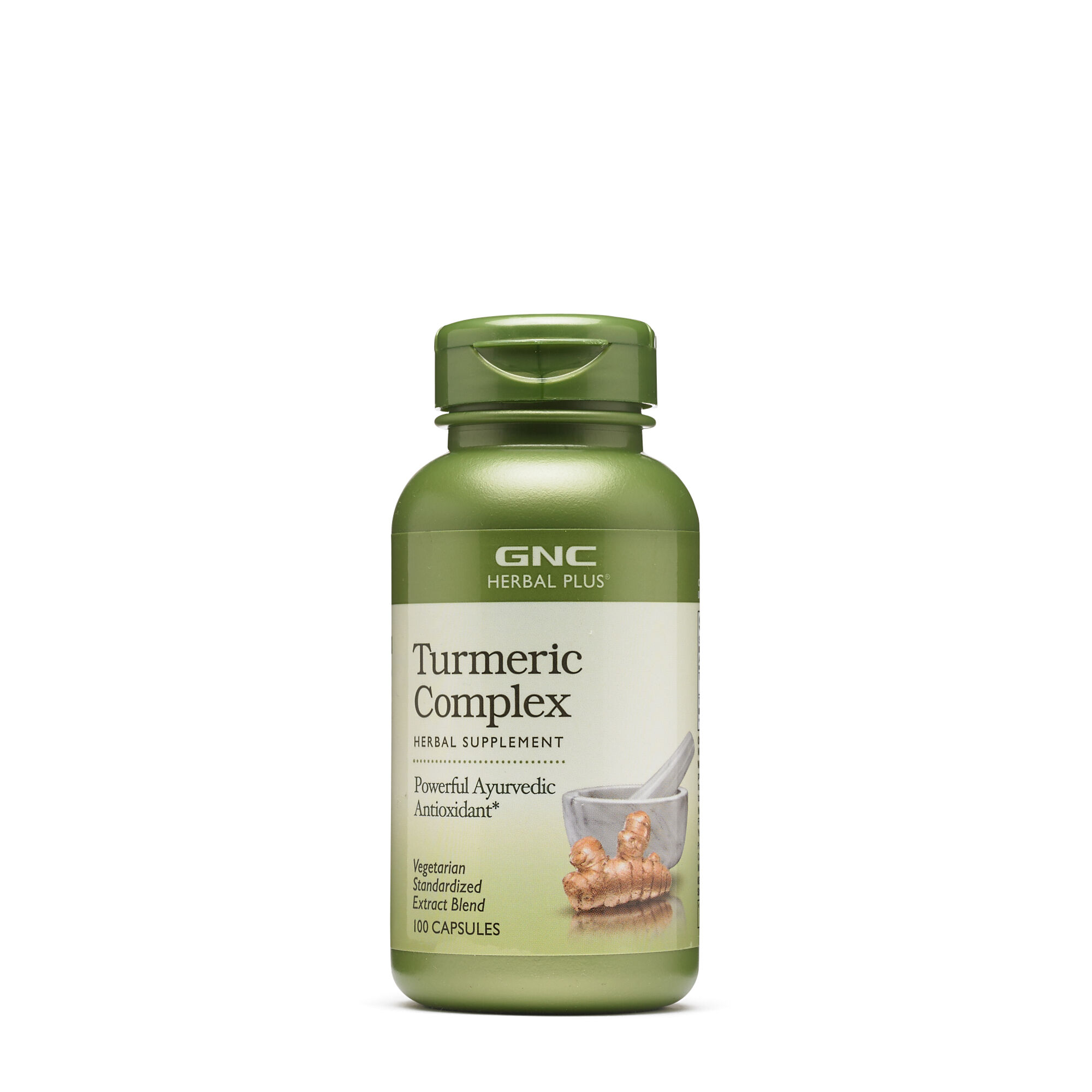 Turmeric Complex - 100 Capsules - GNC Herbal Plus - Joint Health