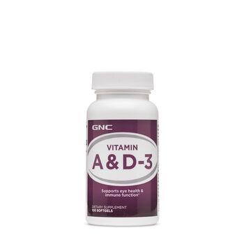Vitamin A & D-3 | GNC