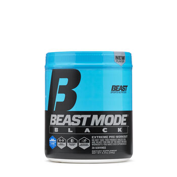 Beast Mode® Black - Blue RaspberryBlue Raspberry | GNC