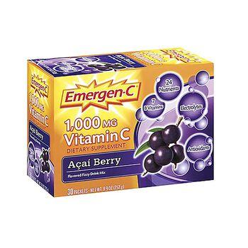 Emergen-C® 1,000 MG Vitamin C Açaí Berry Drink Mix   GNC