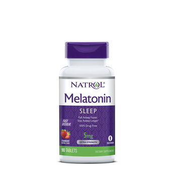 Melatonin 5mg - Strawberry | GNC