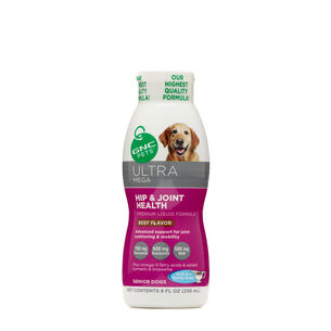 Ultra Mega Hip & Joint Health for Senior Dogs - Beef Flavor | GNC