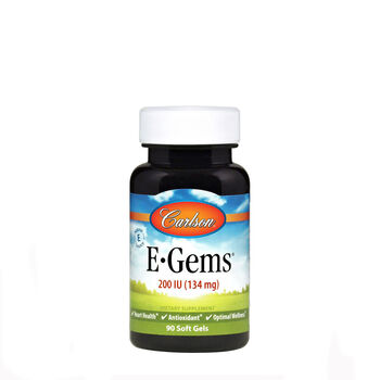 E-Gems® Natural Vitamin E - 200 IU | GNC